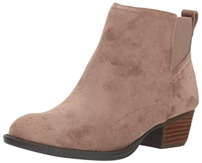 Dr. Scholl's Shoes Women's Jorie Chelsea Boot, Stucco Microfiber, ...