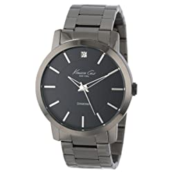 Gunmetal-tone Watch