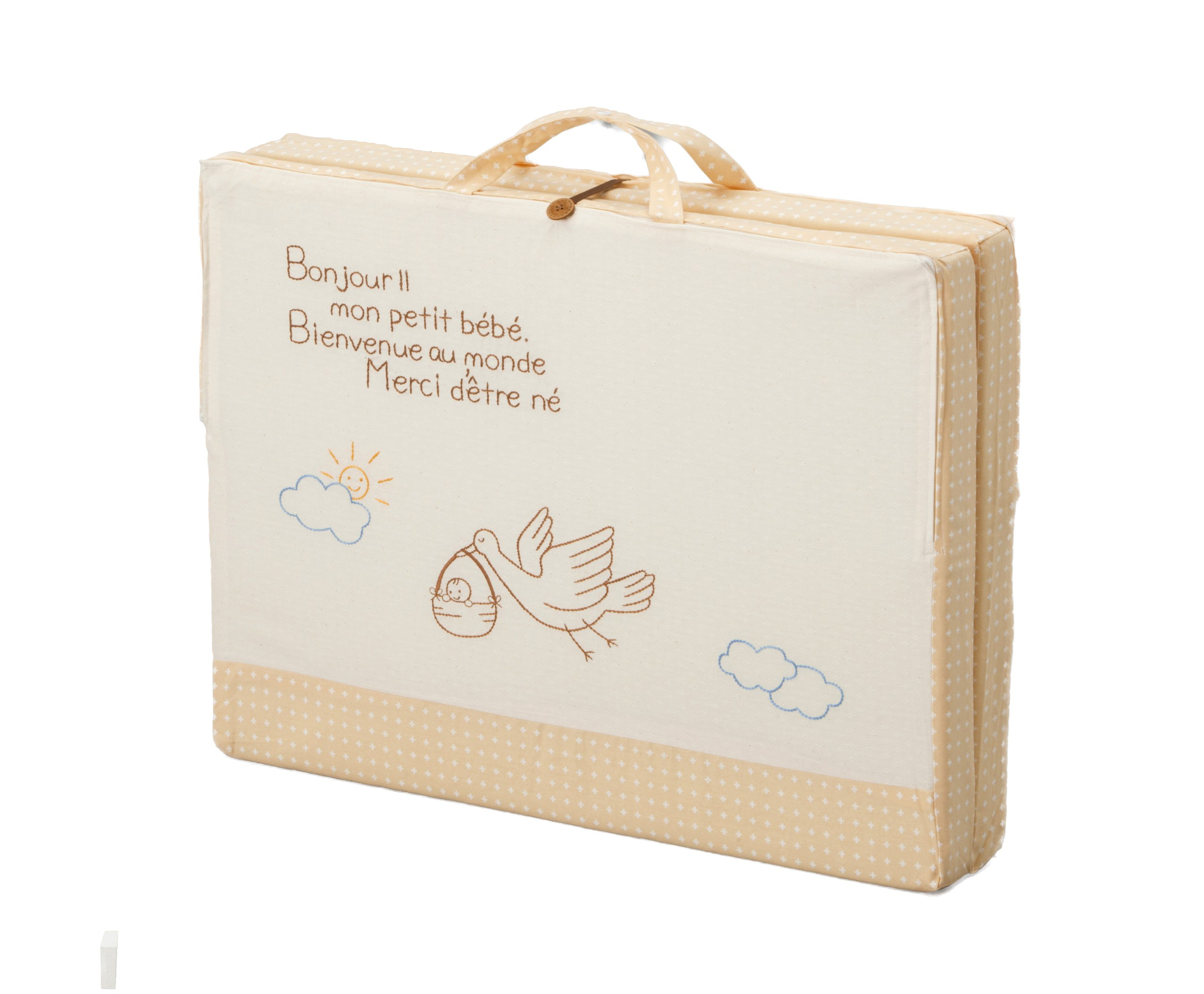 Made in Japan La nature * Le sourire Nachure * Le Suriru comfortably carry mini size baby with handle mattress two broken type