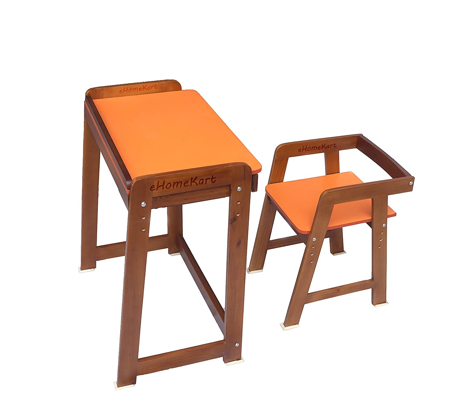 Buy Ehomekart  Premium Wooden Study Table Desk And Chair