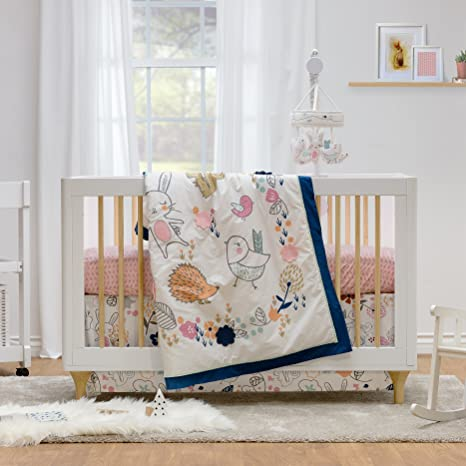 Lolli Living 4 Piece Baby Bedding Crib Set With Stella Pattern. Complete  Set With