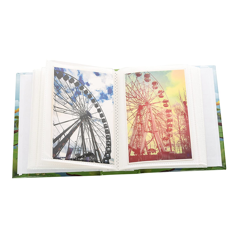 ARPAN 6x4 Designer Photo Album with 100 Pockets Life Inspirational Slogans Photo Album