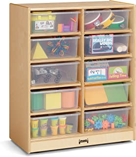 product image for Jonti-Craft 2914JC 10 Tub Mobile Storage Without Bins