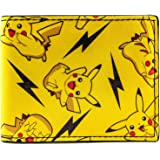Pokemon Thunderbolt Spark Pikachu Jaune Portefeuille