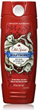Old Spice Body Wash - Wild Collection - Wolfthorn - 16 FL OZ - Pack of 2