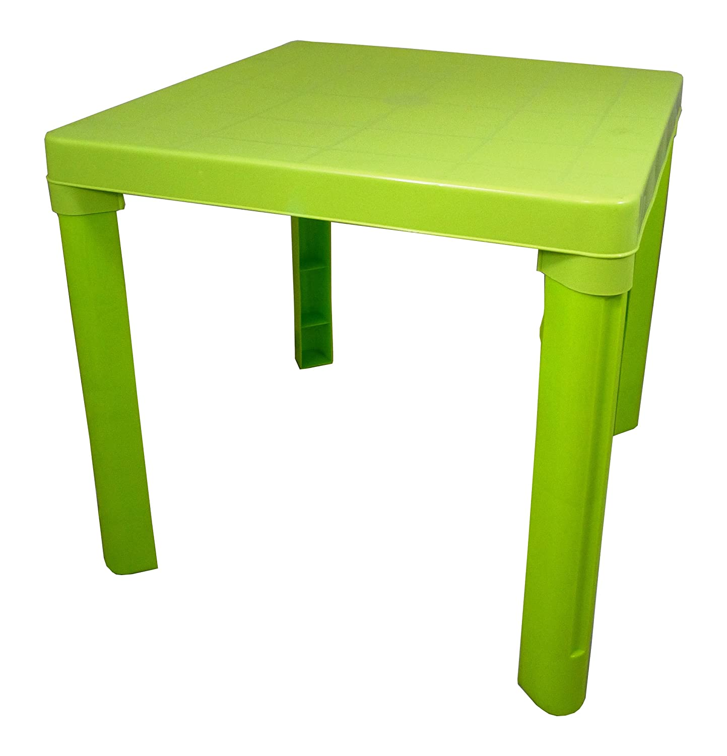 High Quality Green Kids Children Plastic Table Home Garden Picnic