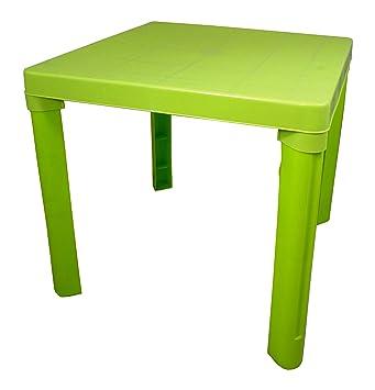 High Quality Green Kids Children Plastic Table Home Garden Picnic