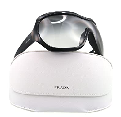 5ac6a7cc1e Amazon.com  Prada Sunglasses SPR 05O BLACK 1AB-3M1 SPR05O  Prada  Shoes