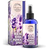 Healing Herbal Perineal Spray 8oz – Organic Postpartum Spray for Pain Relief and Healing – Soothing, Cooling Aloe Based After