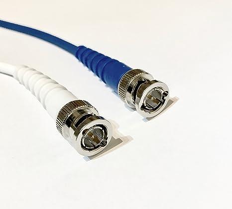 Azul Flexible Serial Cable de vídeo digital VFX720 LSZH coaxial + SD HD SDI BNC PLUGS