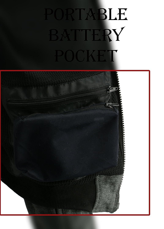 Grey, XL Milwaukee Performance Womens Zipper Front Heated Hoodie