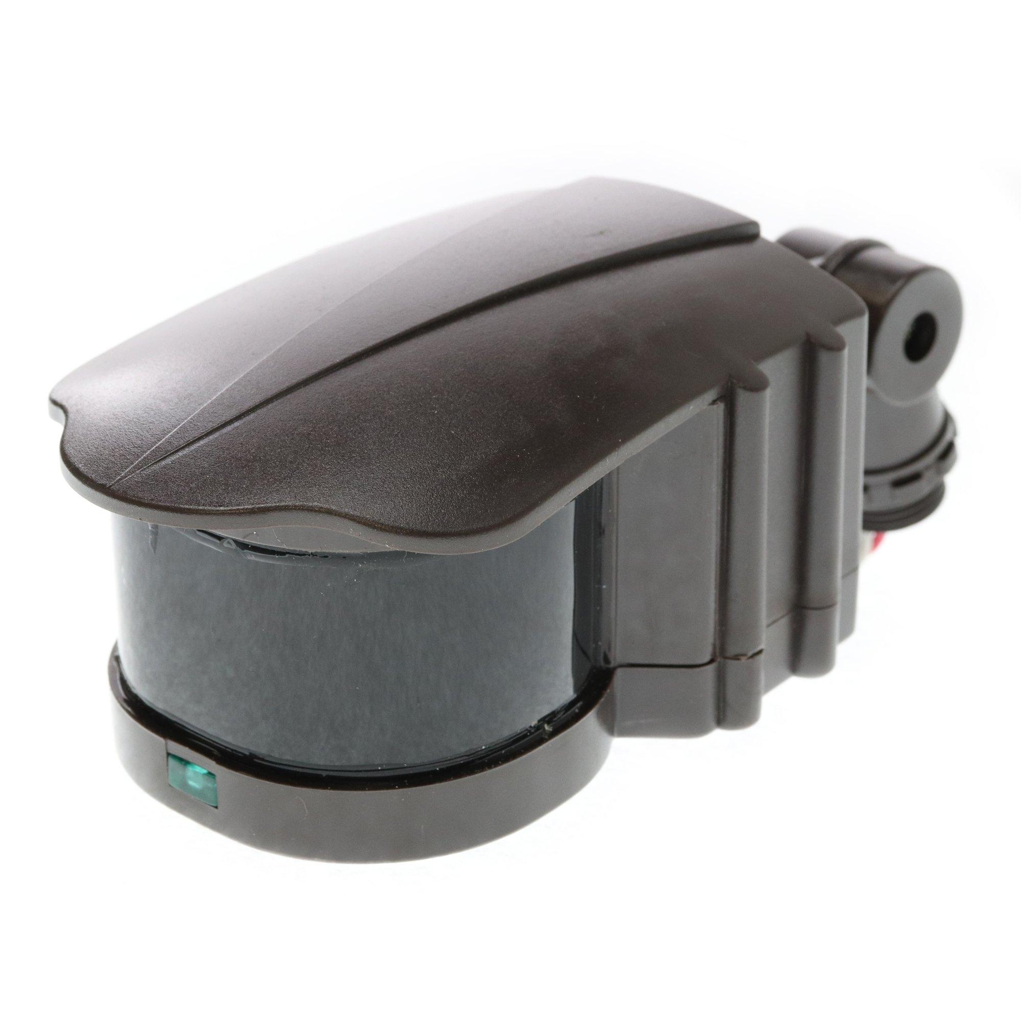 Hubbell Outdoor Lighting SO S-Series Motion Sensor, Bronze