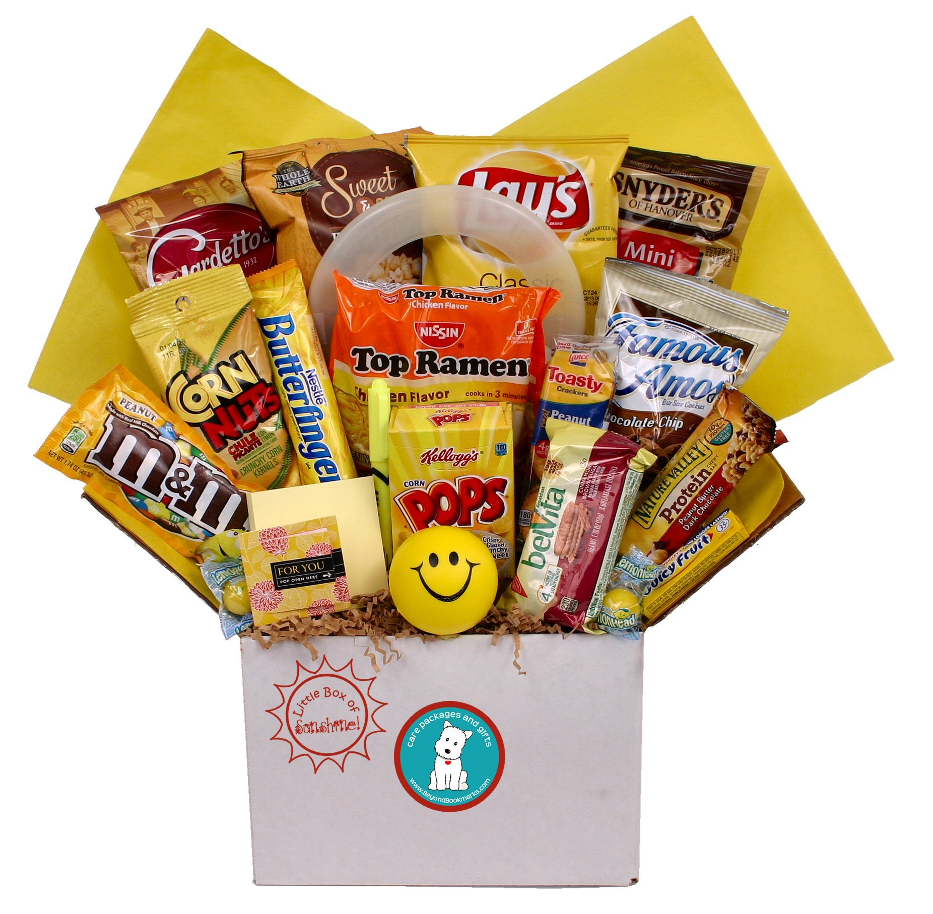 Little Box of Sunshine College Care Package