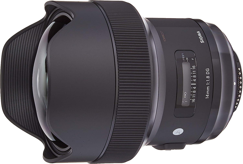 Sigma 450955 - Objetivo réflex 14 mm F1.8 DG AF HSM Art para Nikon ...