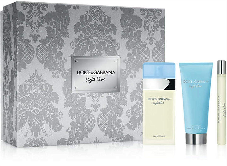 Dolce&Gabbana LIGHT BLUE GIFT SET, 3 Count