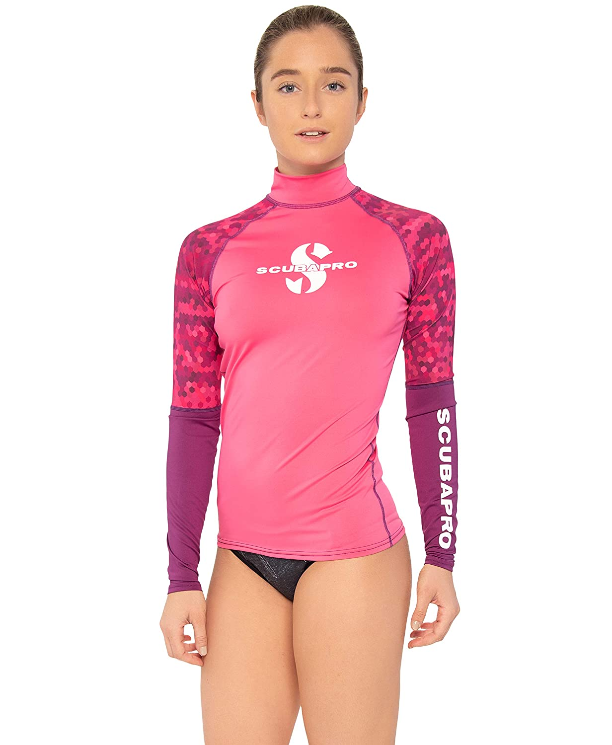 Choose Your Style Scubapro Collection Womens UV Sun Protection Rash Guard Lycra Skin