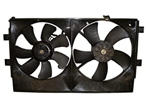 TYC 622450 Replacement Cooling Fan Assembly for Mitsubishi Lancer