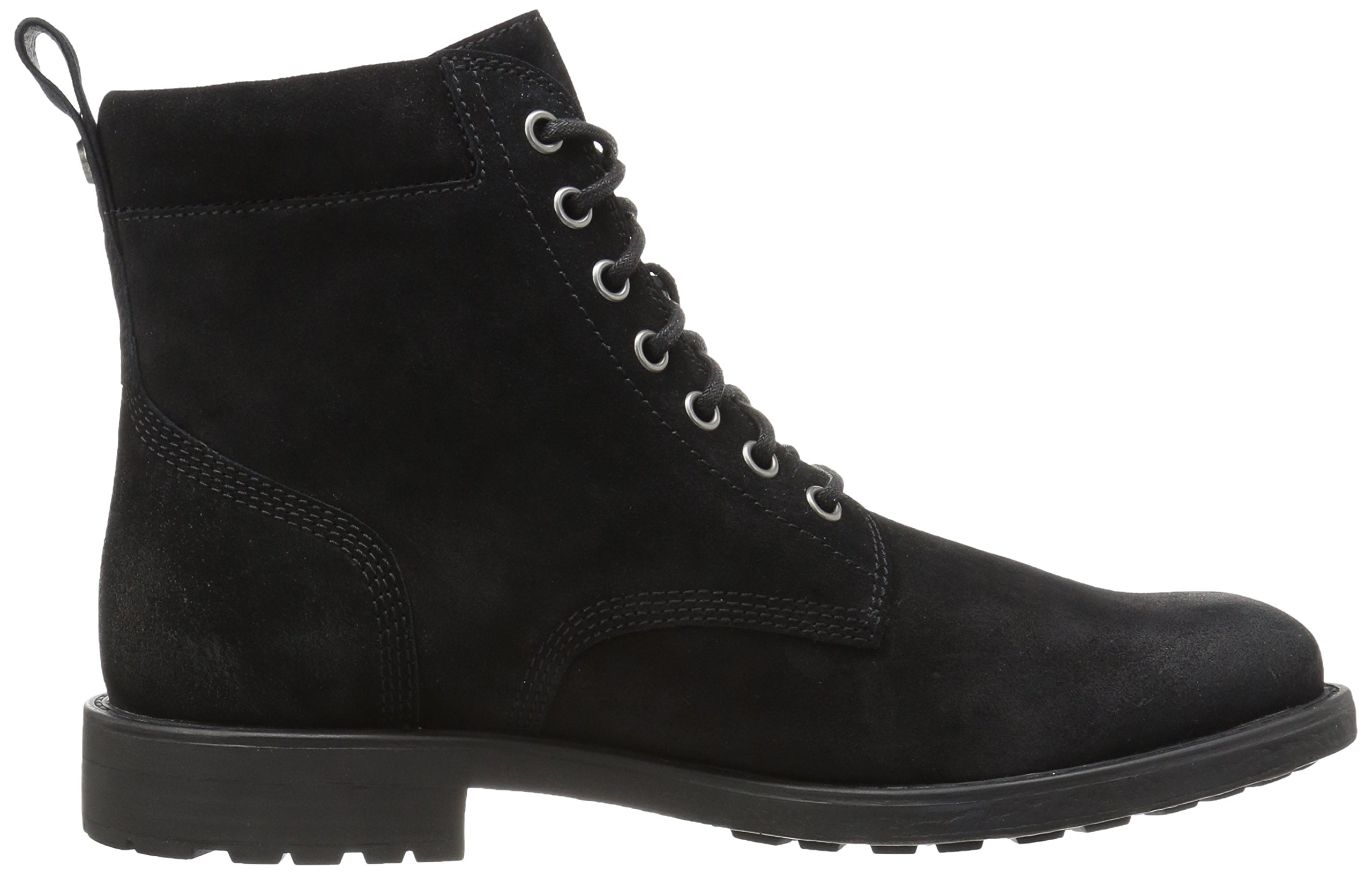 206 Collective Men's Denny Lace-up Motorcycle Boot, Black Burnish, 9.5 D US by 206 Collective (Image #7)
