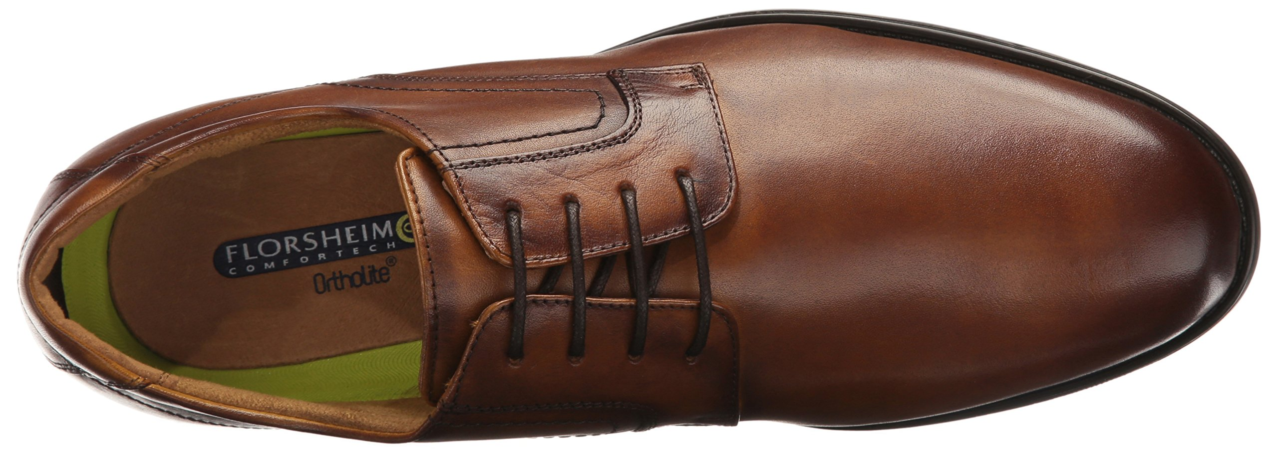 Florsheim Men's Medfield Plain Toe Oxford Dress Shoe, Cognac, 8 D US by Florsheim (Image #8)