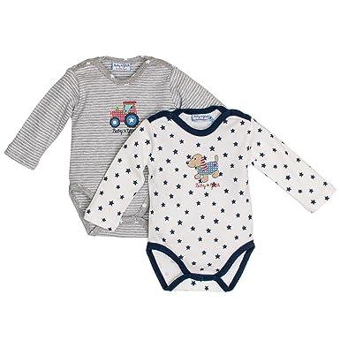 Salt   Pepper Baby Boys  Bg Body Set Print Bodysuit  Amazon.co.uk ... 7642a2d47f1