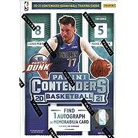 $59 » 2020/21 Panini Contenders NBA Basketball BLASTER box (40 cards incl. ONE Memorabilia…