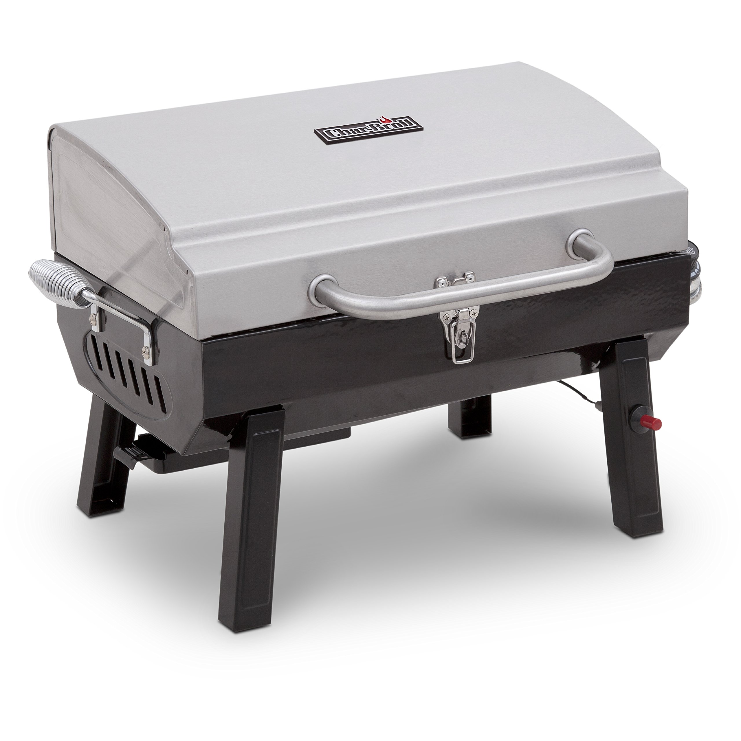 Char-Broil Stainless Steel Portable Liquid Propane Gas Grill by Char-Broil