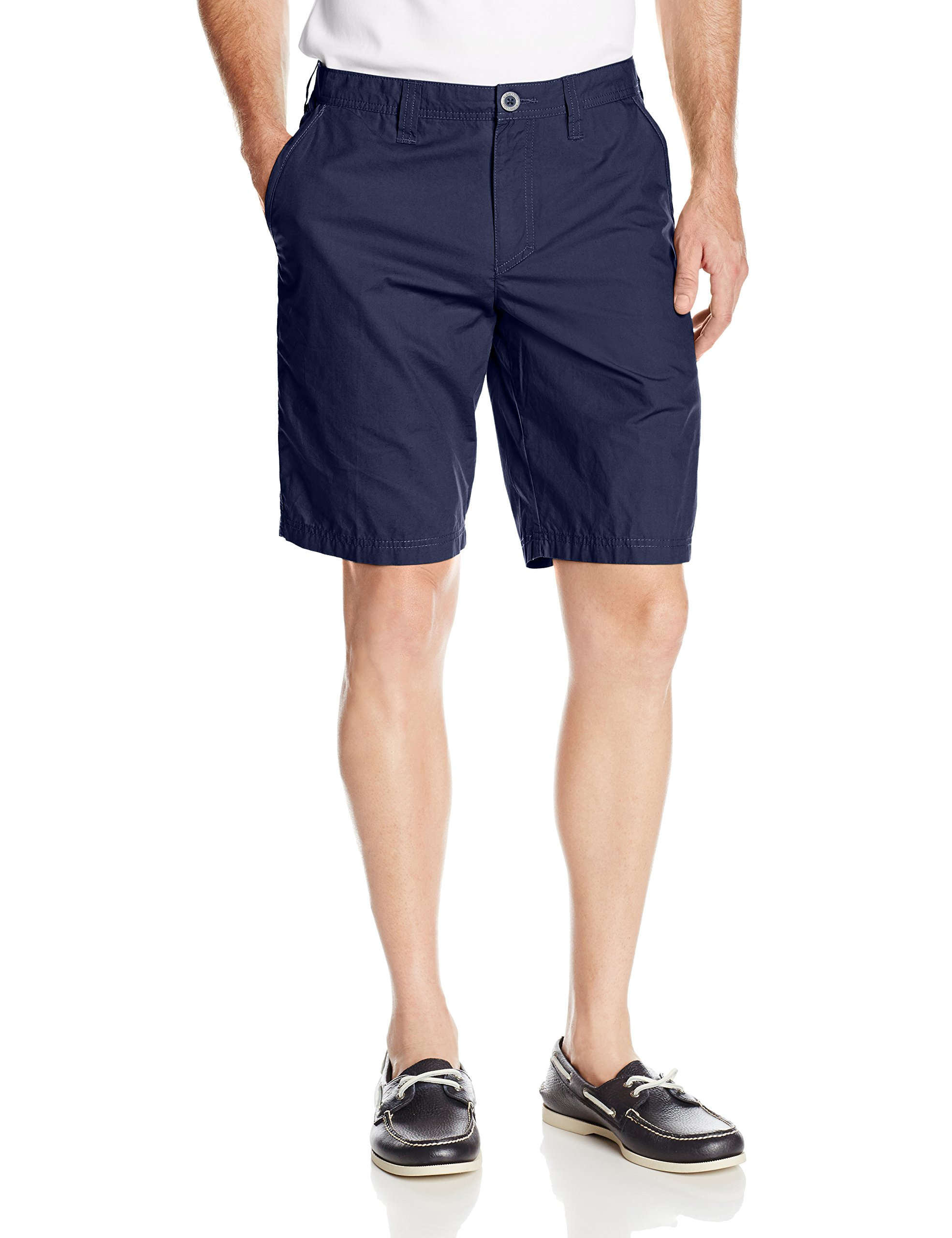 Columbia Men's Washed Out Chino Short, Collegiate Navy, 42x10 by Columbia