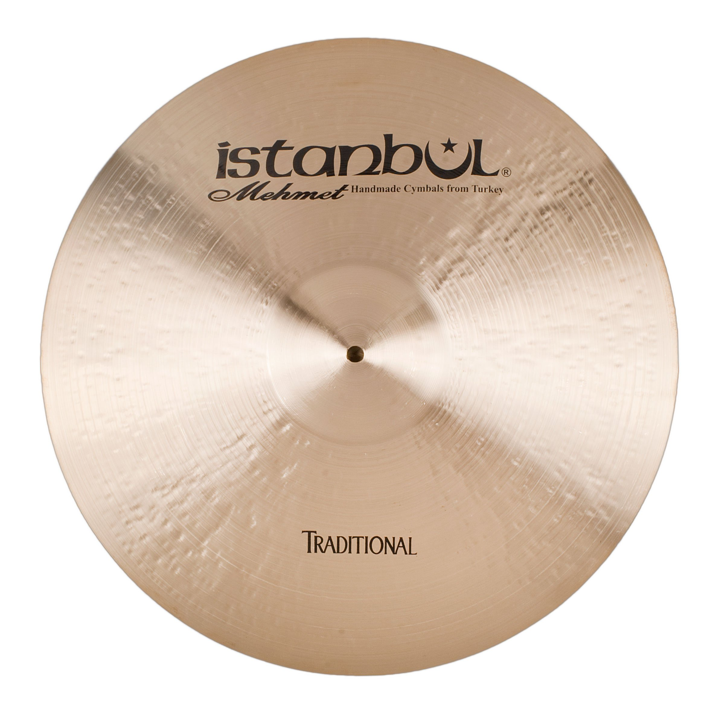 Istanbul Mehmet Cymbals Traditional Series RP24 24-Inch Ping Ride Cymbals