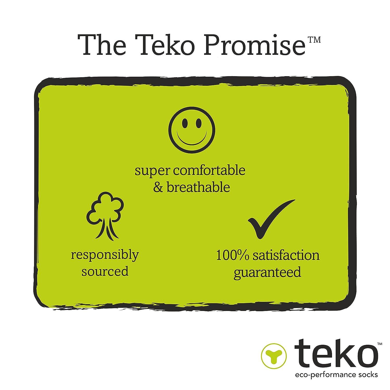Teko 0033302s/_ch/_l Organic Merino Mens Light Minicrew Socks