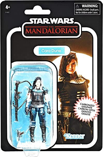 """In Stock STAR WARS 3.75/"""" Vintage Collection THE MANDALORIAN CARBONIZED figure"""