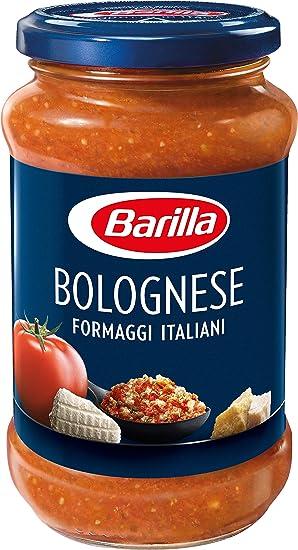 Barilla, Salsa para pasta, Boloñesa con queso 400gr