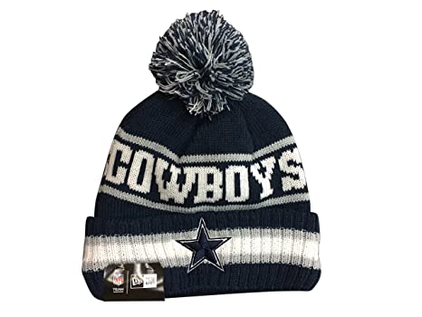 6f56200dbee79 Amazon.com   New Era Dallas Cowboys Vintage Select Knit Hat   Sports ...