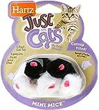 Hartz Just For Cats Catnip Mini Mice Cat Toys - 5 Pack