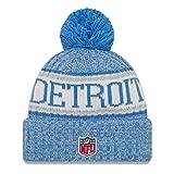 New Era Detroit Lions On Field 2018 Sport Knit Hat