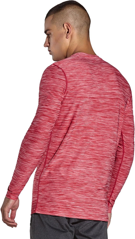 MC05T Komprexx T-Shirt de Sport Homme Manches Longues Tee Shirt de Running pour Fitness S/échage Rapide Respirant Confortable