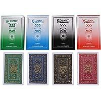 G II Kosmic 555 Club Playing Cards -Set of 4