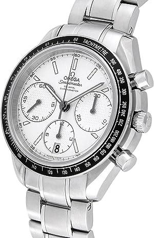 [オメガ] 腕時計 スピードマスター シルバー文字盤 コーアクシャル自動巻 100M防水 クロノメーター デイト 326.30.40.50.02.001 並行輸入品 シルバー
