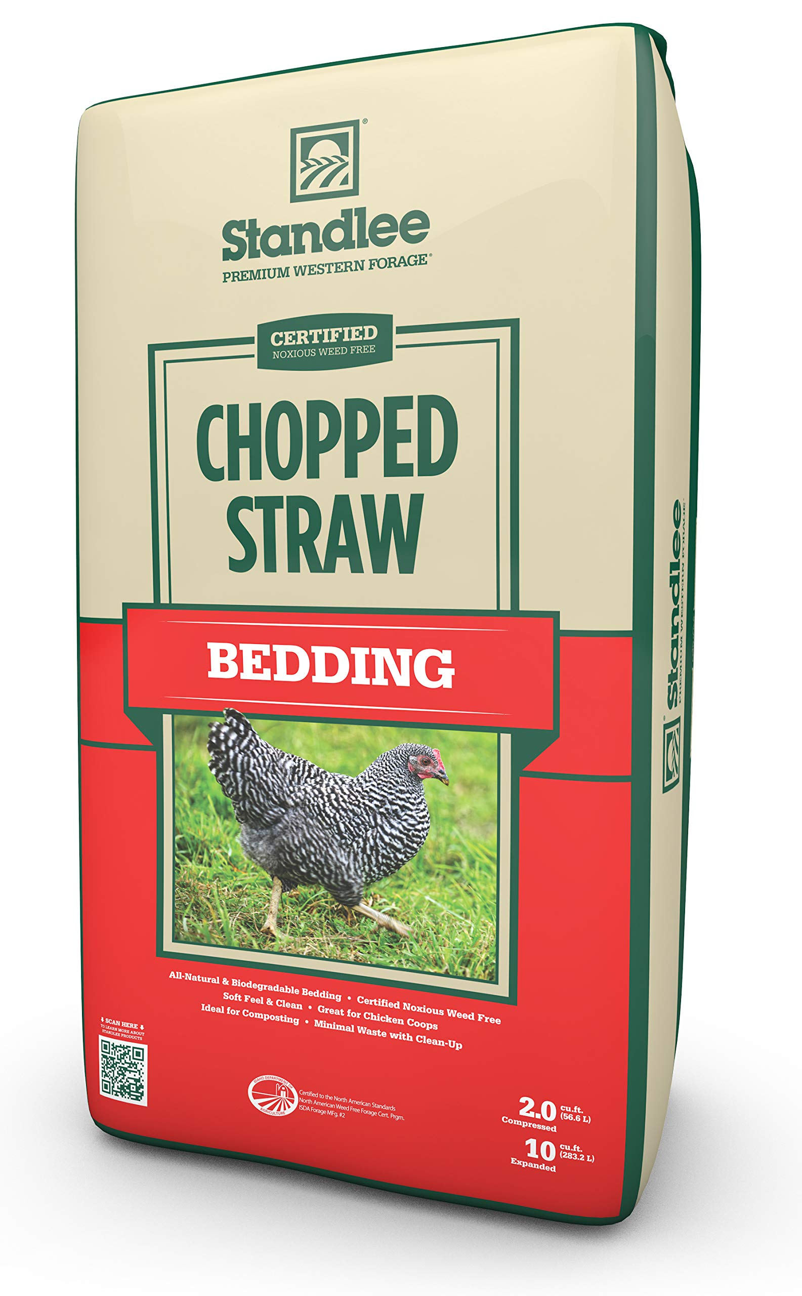 Standlee Hay Company Wheat or Barley Chopped Straw for Animal Bedding by Standlee Hay Company