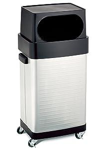 Seville Classics 17-Gallon UltraHD Commercial Stainless Steel Trash Bin