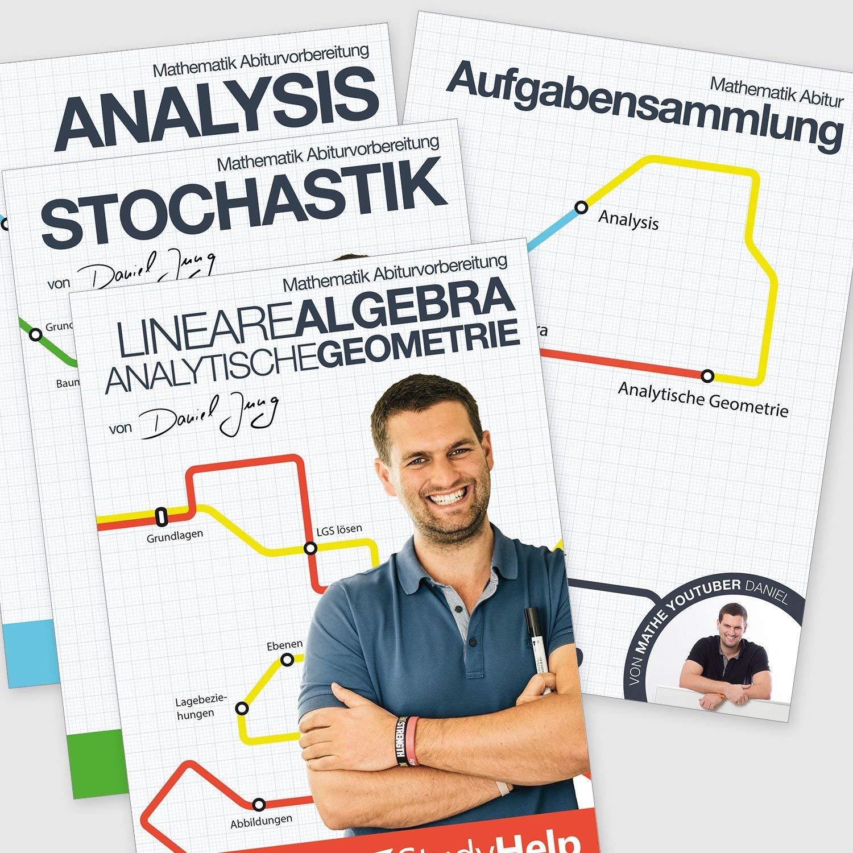Mathematik Abitur Lernhefte Set inkl. Aufgabensammlung   StudyHelp ...