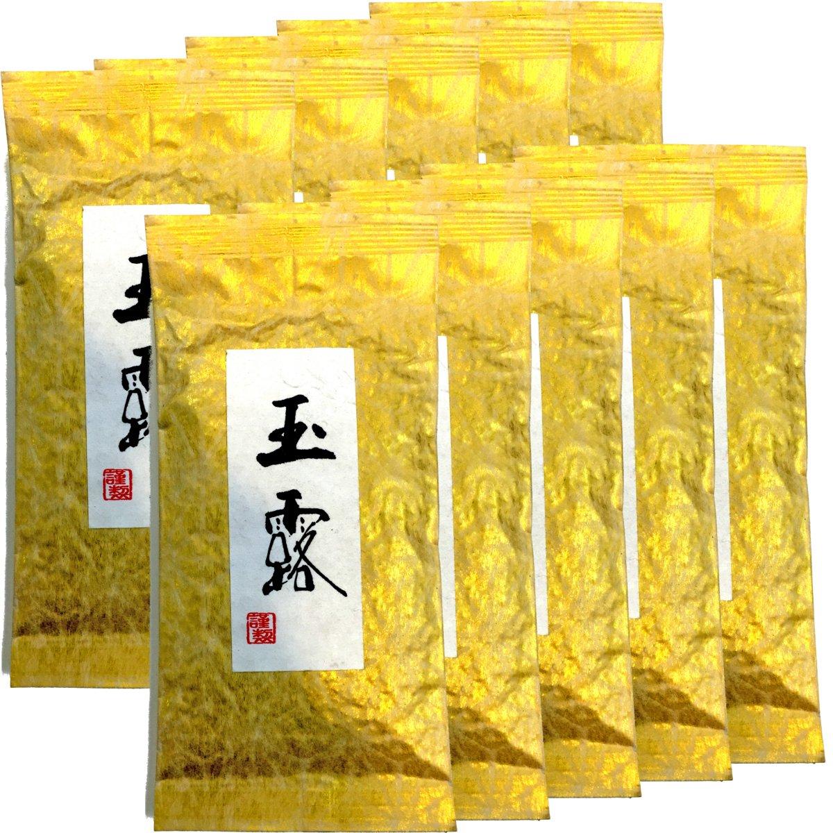 Japanese Tea Shop Yamaneen Gyokuro tea Green tea of the highest quality tea Uji-shi, Kyoto 100g. x 10packs