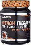 BioTech Nitrox Therapy Resistencia y Energía, Sabor Fruta Tropical - 680 gr