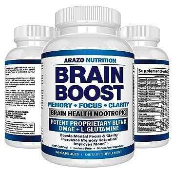 Pastillas Para El Cerebro - Vitaminas Para Mejorar El Funcionamiento De La Mente - 60 Cápsulas