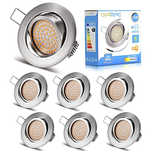 Jinko Led 5w Integrated Ceiling Lamp Bedroom Kitchen: Recessed Light Fitting: Amazon.co.uk