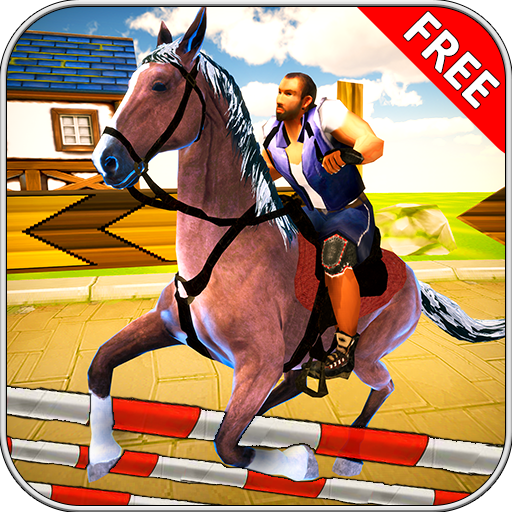 Horse Riding Adventure Games 2 2018 3D (People Racing)