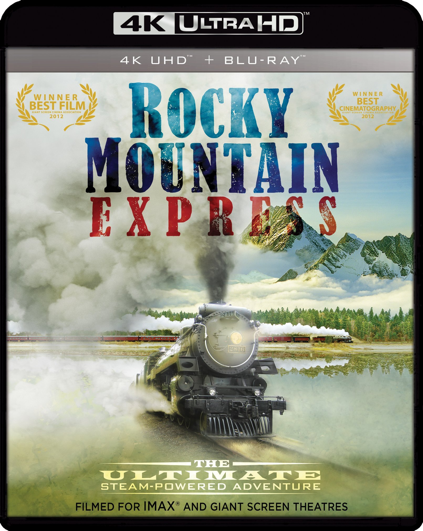 4K Blu-ray : Imax: Rocky Mountain Express (With Blu-Ray 3-D, Widescreen, 2 Pack, 2 Disc)