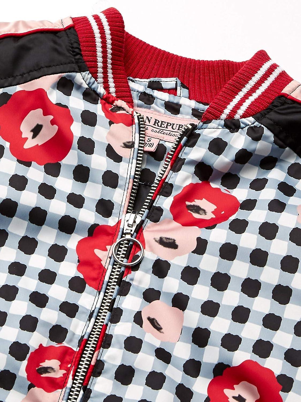 Urban Republic Girls Big Printed Sateen Jacket