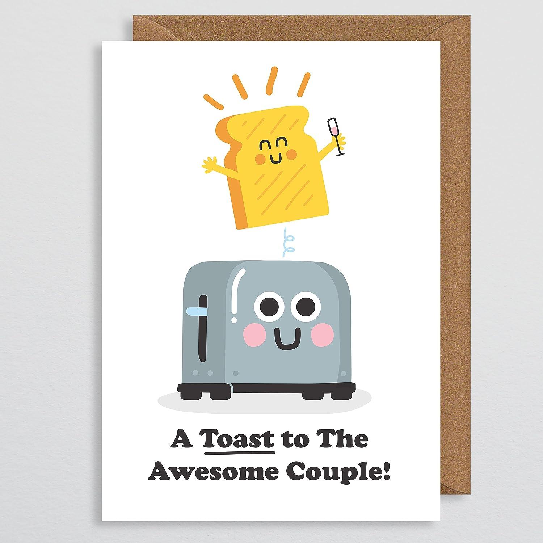 Funny Wedding Card Wedding Toast Pun Wedding Wedding