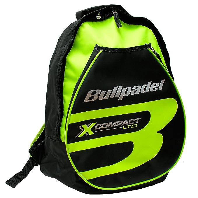 Mochila Bullpadel X-Compact Amarillo Flúor: Amazon.es: Deportes y aire libre