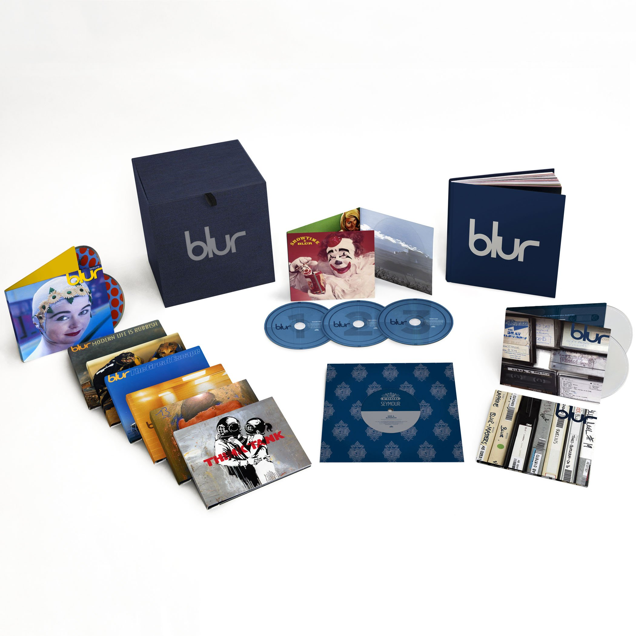 Blur 21 by Virgin Records